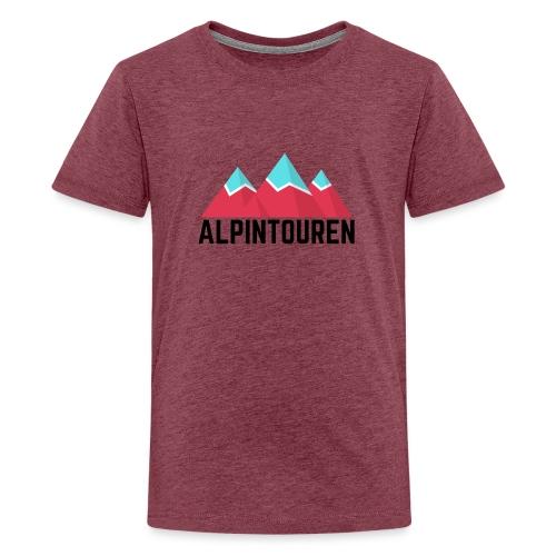 Alpintouren - Teenager Premium T-Shirt