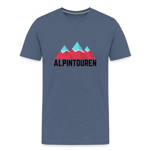Alpintouren - Teenager Premium T-Shirt