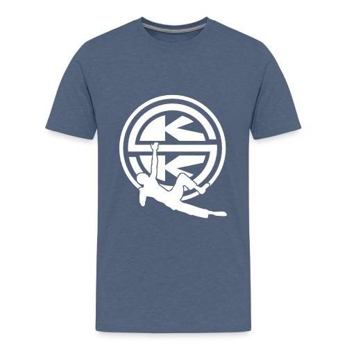 SKK_shield - Premium-T-shirt tonåring