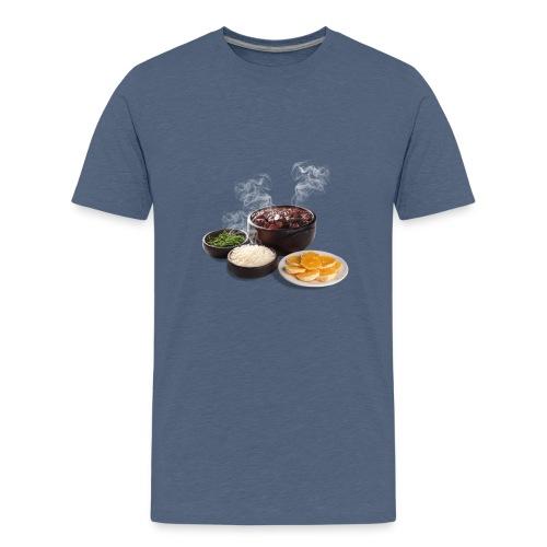 Feijoada - Teenage Premium T-Shirt