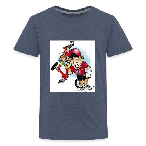 BoarderMax Bike Crash - Teenager Premium T-Shirt