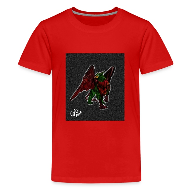 Grifone verde-rosso