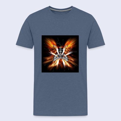 Skullhead Nitro - Teenager Premium T-Shirt
