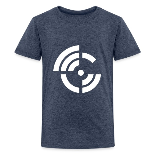 electroradio.fm logo - Teenager Premium T-Shirt