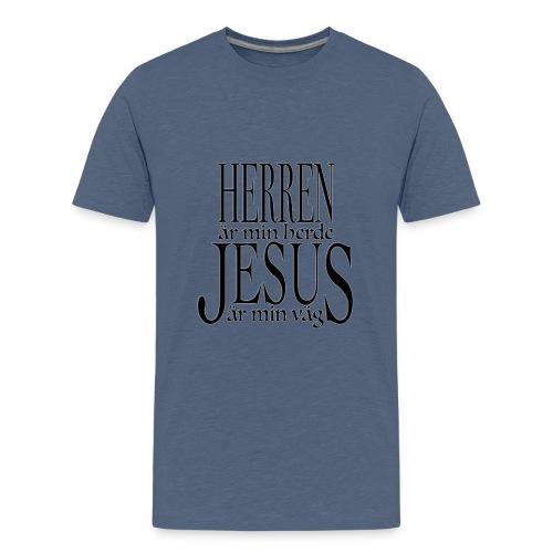 Herren är min Herde - Premium-T-shirt tonåring