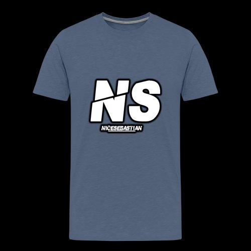 NiceSebastian - Premium T-skjorte for tenåringer