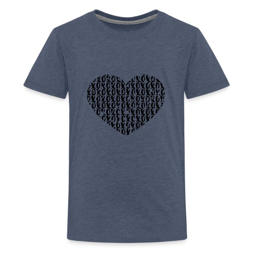 heart - love - Teenager Premium T-shirt