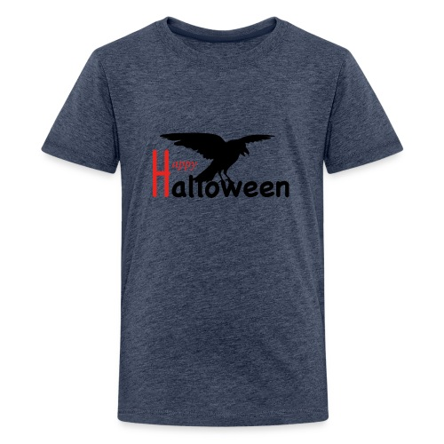 Happy Halloween - Rabe - Teenager Premium T-Shirt