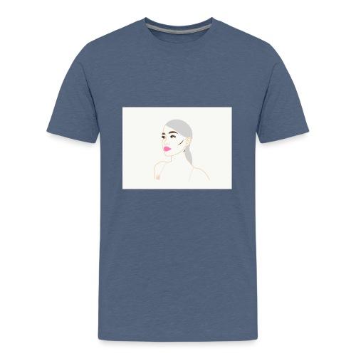 Ariana Grande Sweetener Art - Teenage Premium T-Shirt