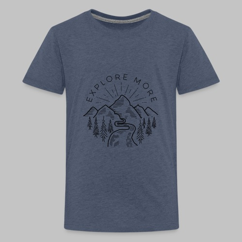 Explore more - Teenage Premium T-Shirt