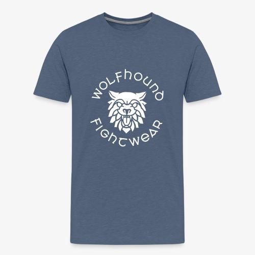 logo round w - Teenage Premium T-Shirt