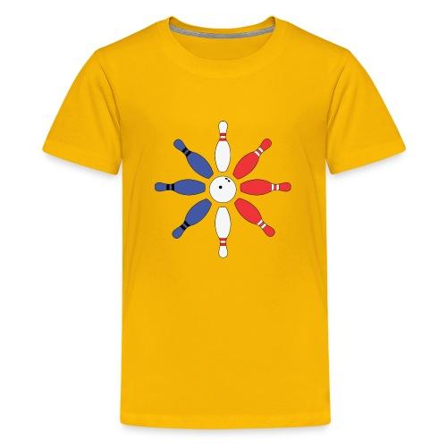 Roue de Quilles - T-shirt Premium Ado