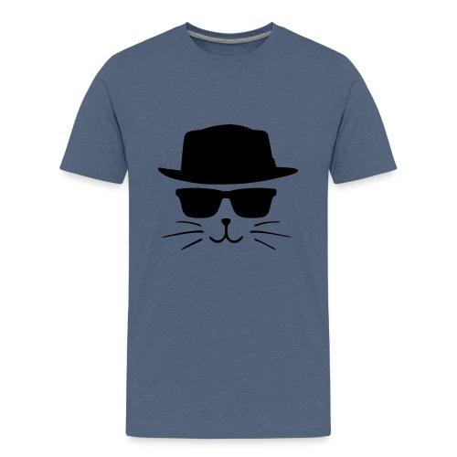 Chat avec style - T-shirt Premium Ado