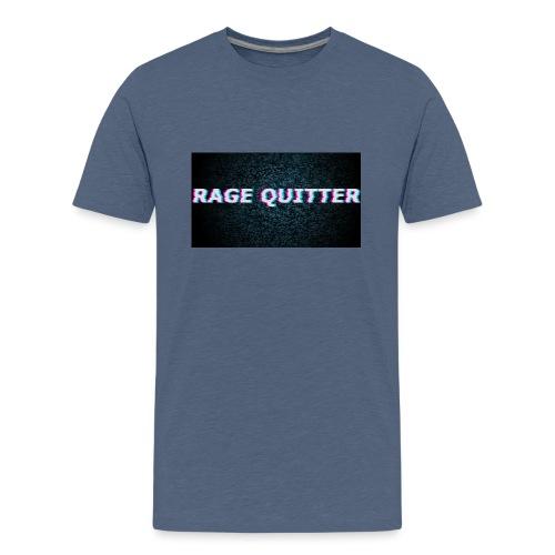 Rage Quitter Design 1 - Teenage Premium T-Shirt