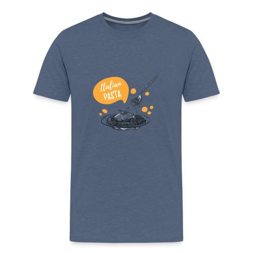 I love Italian Pasta - Camiseta premium adolescente