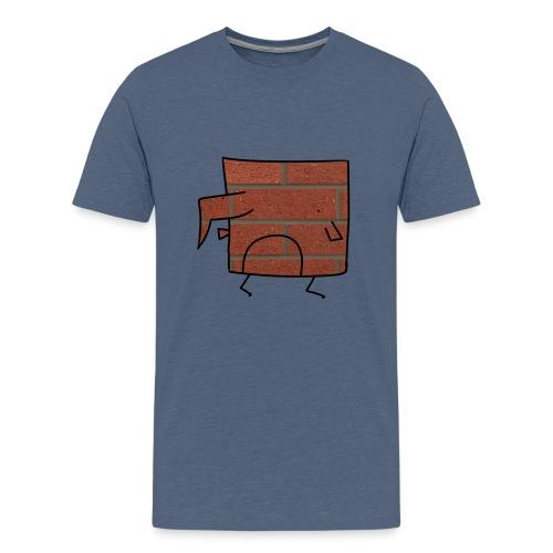 Brick Berd - Teenage Premium T-Shirt