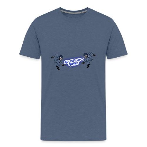 ArunPlayzGames Banner - Teenage Premium T-Shirt