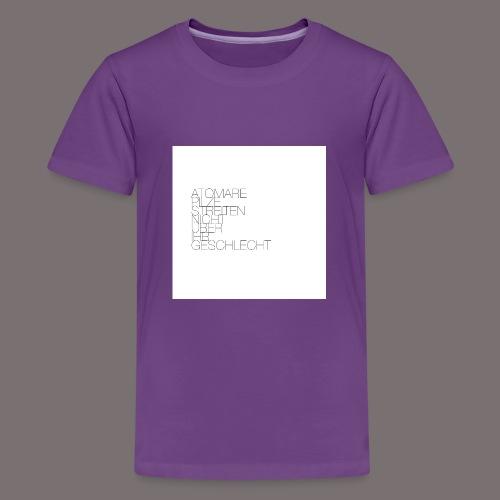 Atomare Pilze streiten nicht über ihr Geschlecht. - Teenager Premium T-Shirt