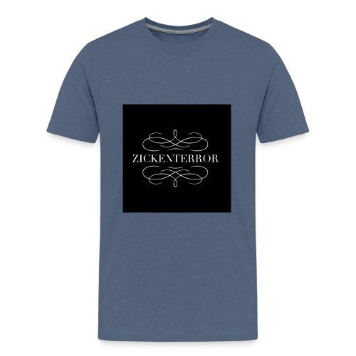IMG 0267 Zickenterror - Teenager Premium T-Shirt