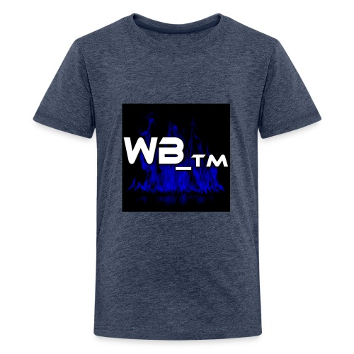 WB TM LOGO - Teenage Premium T-Shirt