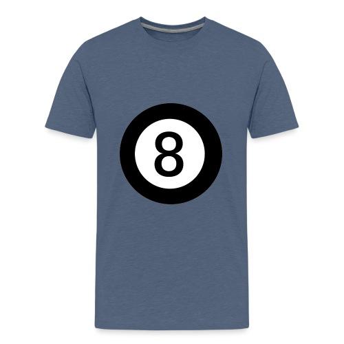 Black 8 - Teenage Premium T-Shirt