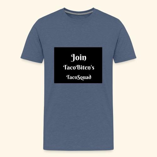 TacoBiten's squad - Premium-T-shirt tonåring