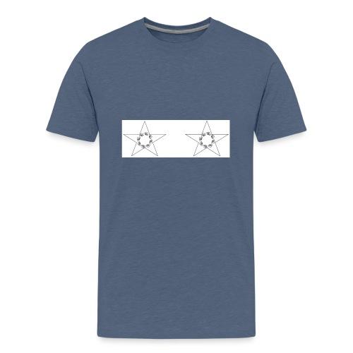 double stars - T-shirt Premium Ado
