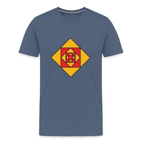 Prismes carrés - T-shirt Premium Ado