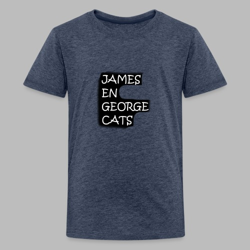 James en George (Limited Edition!) - Teenager Premium T-shirt