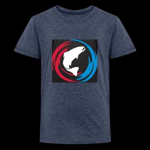 Logo Fisk - Premium-T-shirt tonåring