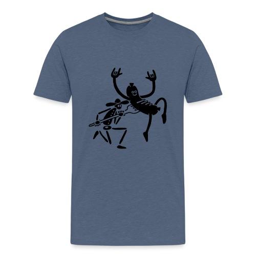 Wurst und Kauboi - Teenager Premium T-Shirt