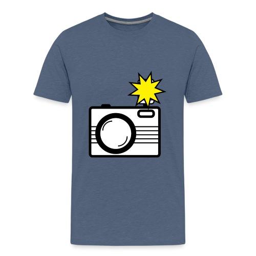 camera - Teenage Premium T-Shirt