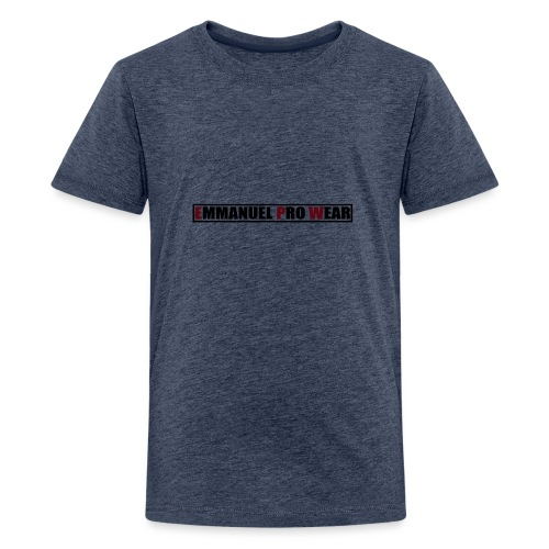 Emmanuel pro wear - Teenage Premium T-Shirt
