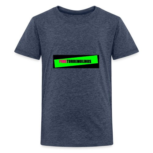 pinklogo - Teenager Premium T-shirt