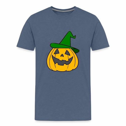 Halloween citrouille - T-shirt Premium Ado