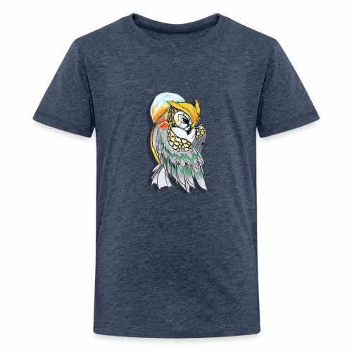 Cosmic owl - Camiseta premium adolescente