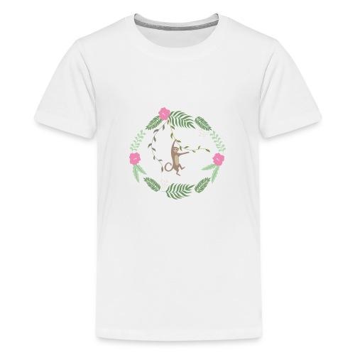 Mikey monkey - Maglietta Premium per ragazzi