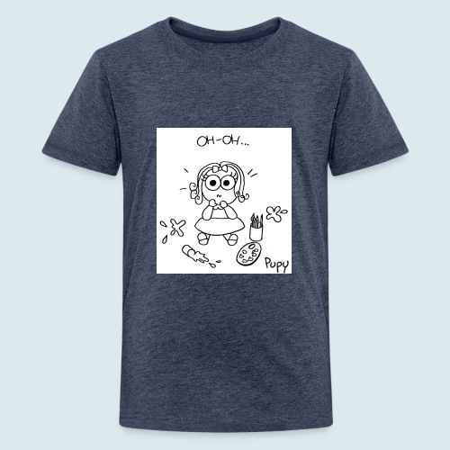 Pupy: oh-oh... - girl - Maglietta Premium per ragazzi