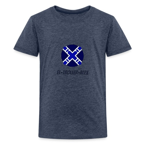 DISEÑO EL TROLLER ALEX EVO - Camiseta premium adolescente
