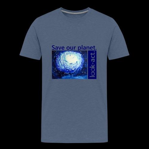 Save our planet. Unterwasserwelt. - Teenager Premium T-Shirt