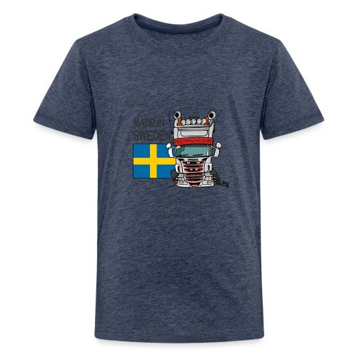 Made in Sweden - Teenager Premium T-shirt