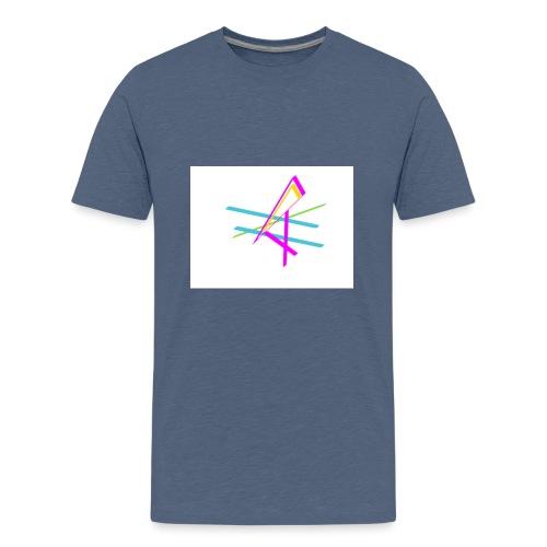 ligne multicolore - T-shirt Premium Ado