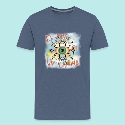 El Arte es un camino - Camiseta premium adolescente