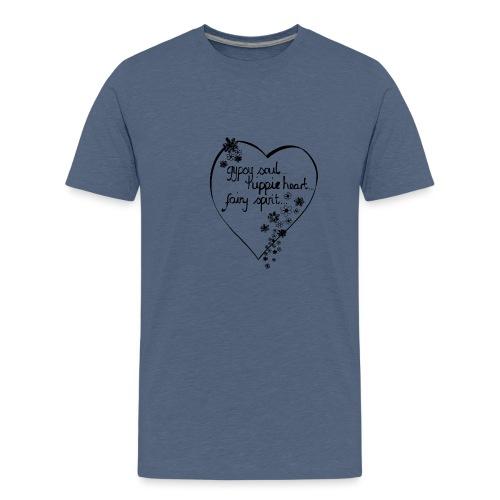 gypsy soul. - Teenage Premium T-Shirt