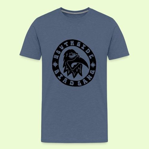 BLACK EAGLE LOGO - Teinien premium t-paita