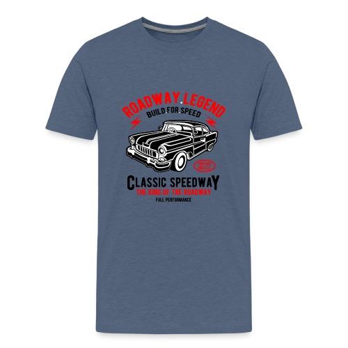 Roadway Legend Build for Speed - Teenager Premium T-shirt