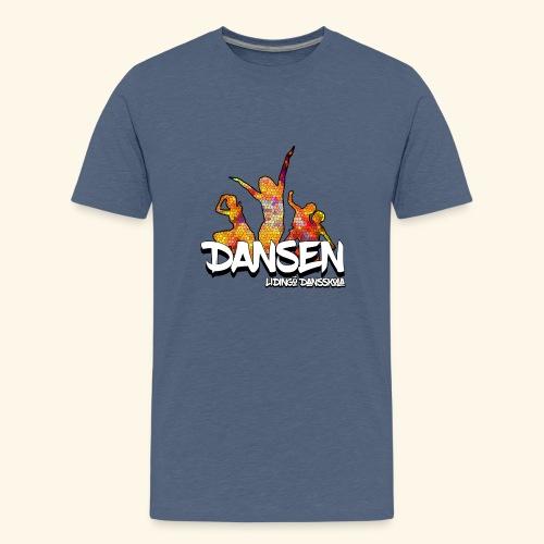 Dansen Mosaik - Premium-T-shirt tonåring