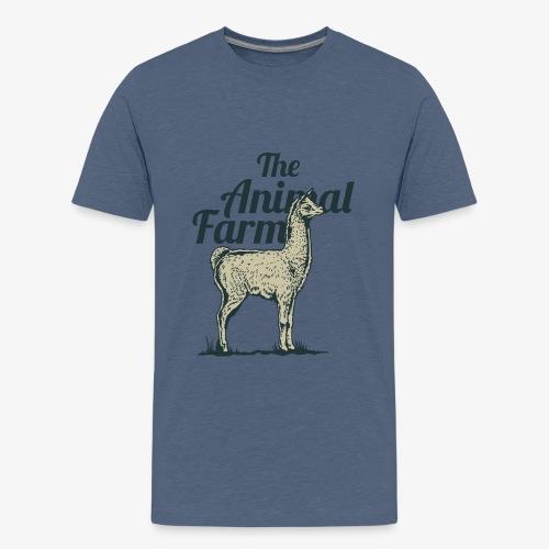 Lama - T-shirt Premium Ado