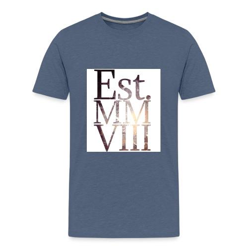 Born in 2008 - Teenage Premium T-Shirt