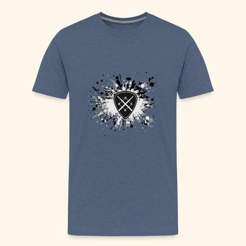 ROCK MUSIC - Teenager Premium T-Shirt
